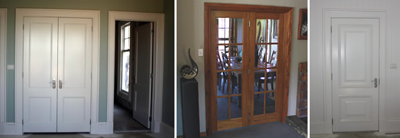 Our charming doors suit a wide range of architectural styles. You are also very welcome to bring in your own designs. & Interior Timber Feature Doors   Clearline Doors